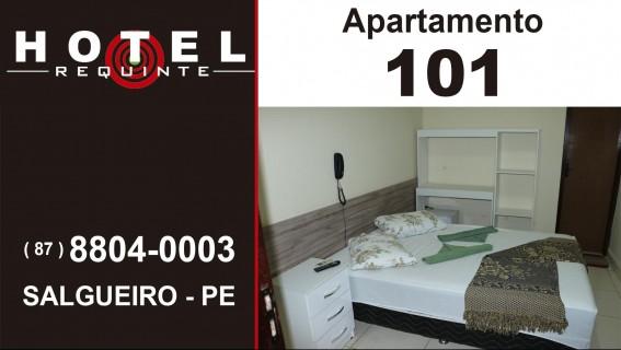 HOTEL REQUINTE em Salgueiro Apartamento 101