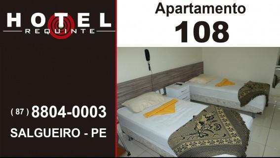 HOTEL REQUINTE em Salgueiro Apartamento 108