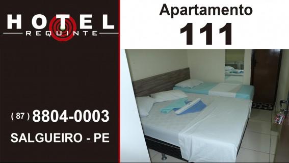HOTEL REQUINTE em Salgueiro Apartamento 111