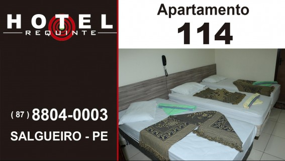 HOTEL REQUINTE em Salgueiro Apartamento 114