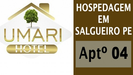 Hotel em Salgueiro - UMARÍ HOTEL - Aptº 04