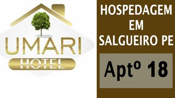 Hotel em Salgueiro - UMARÍ HOTEL - Aptº 18