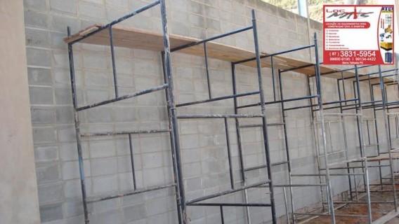 Aluguel de Andaimes em São Cristóvão, Serra Talhada, PE