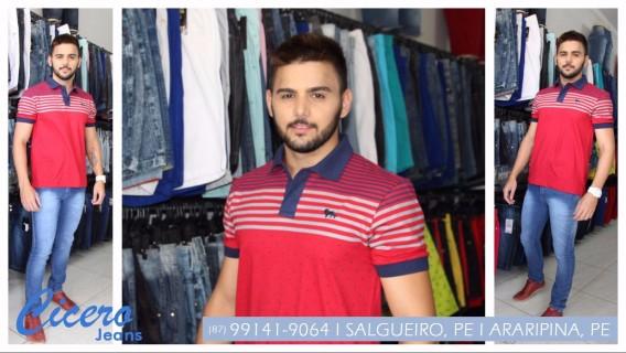 Comprar blusa masculina em Salgueiro, PE - Cícero Jeans