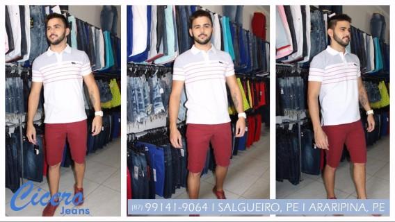 Comprar short em Salgueiro, PE - Cícero Jeans