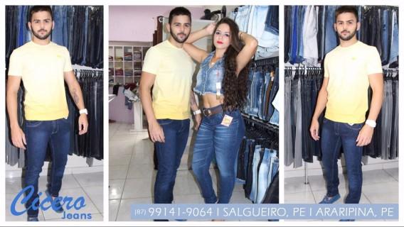 Short Jeans em Salgueiro, PE - Cícero Jeans