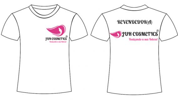 Camisa Revendedora Juh Cosmetics