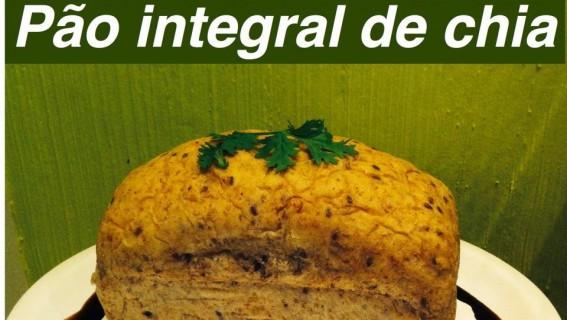 Pão integral de chia