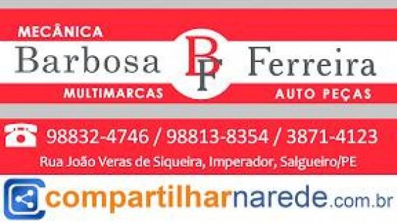 Mecânica Barbosa e Ferreira Auto Peças em Salgueiro, PE