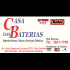 CASA DAS BATERIAS