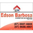 EDSON BARBOSA - Corretor de imóveis