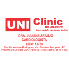 DR. JULIANA ARAÚJO