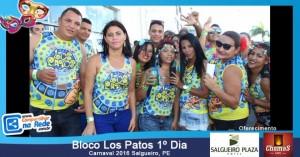 Bloco Los Patos 1º Dia - Carnaval 2016