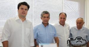 Senador Fernando Bezerra Coelho e o Ministro Fernando Bezerra Coelho Filho (Minas e Energia), Visitam Salgueiro-PE