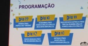 Lançamento da Programação oficial do Carnaval Sertanejo