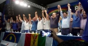 """Em Petrolina """"Pernambuco quer mudar"""" Leva 3,5 mil pessoas e demonstra força da oposição no Estado"""