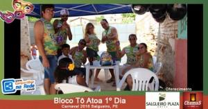 Bloco Tô Atoa 1º Dia - Carnaval 2016