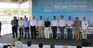 Temer veio a Pernambuco entregar estação do Eixo Norte da Transposição