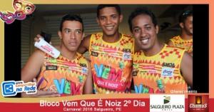 Bloco Vem Que É Noiz 2º Dia - Carnaval 2016