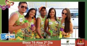Bloco Tô Atoa 2º Dia - Carnaval 2016
