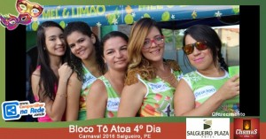 Bloco Tô Atoa 4º Dia - Carnaval 2016