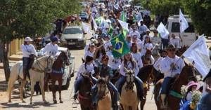 1ª Grande cavalgada Nossa Senhora Aparecida em Salgueiro-PE