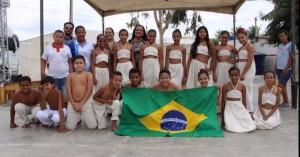 Apresentação Cultural da Escola Paulo Fernando- II Bienal do Livro do Sertão