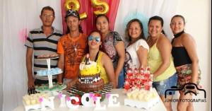 Aniversário Nicolle Lima