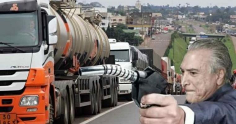Caminhoneiros preparam cerco a Brasília na próxima segunda
