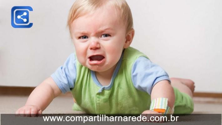 Sem pânico: o que fazer quando os bebês machucam a boca?