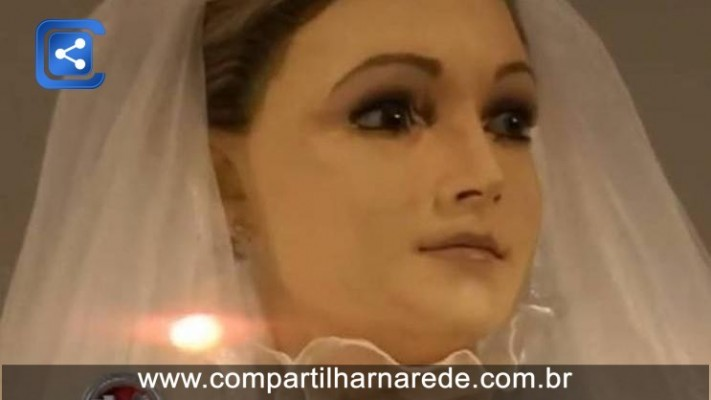 MISTÉRIO! IDÊNTICO À NOIVA MORTA, MANEQUIM DE LOJA PODE SER DEFUNTO EMBALSAMADO