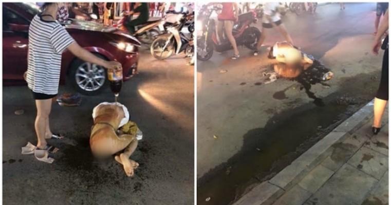 Esposa deixa amante do marido nua no meio da rua e derrama pimenta-malagueta nela