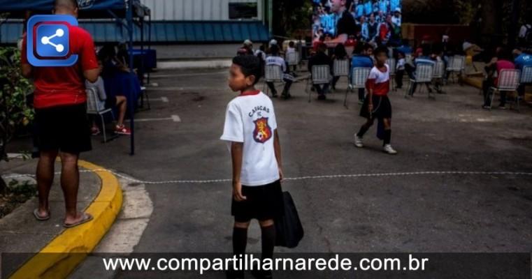 Crise na Venezuela separa milhares de crianças de seus pais