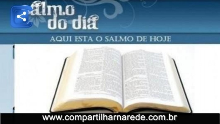 Salmo 11 Salmo do Dia
