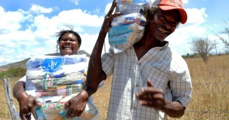 LBV arrecada alimentos para ajudar famílias da Zona Rural do Agreste e Sertão PE