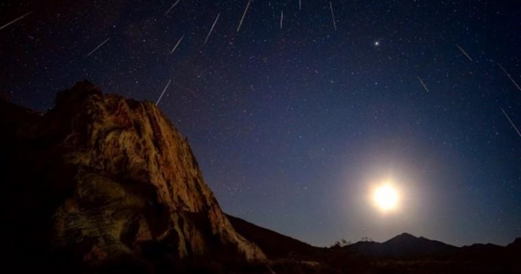 Chuva de meteoros poderá ser vista no céu do Brasil neste domingo