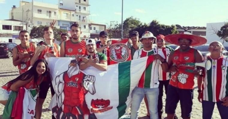 Torcedores do Salgueiro dizem que foram esnobados pela diretoria do time em Juazeiro-BA