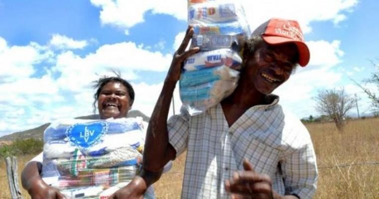 LBV entregará 1,3 mil cestas básicas a famílias carentes no Sertão e Agreste de Pernambuco