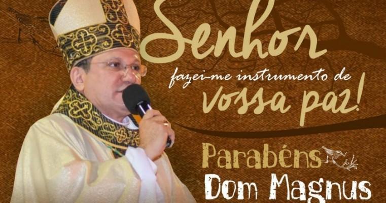 FELIZ ANIVERSÁRIO DOM MAGNUS HENRIQUE