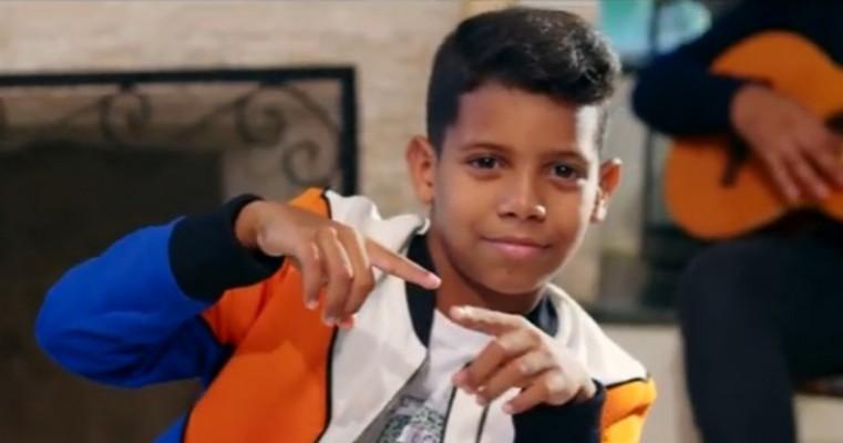 MC Bruninho, 11 anos, é o maior sucesso Funk da era moderna
