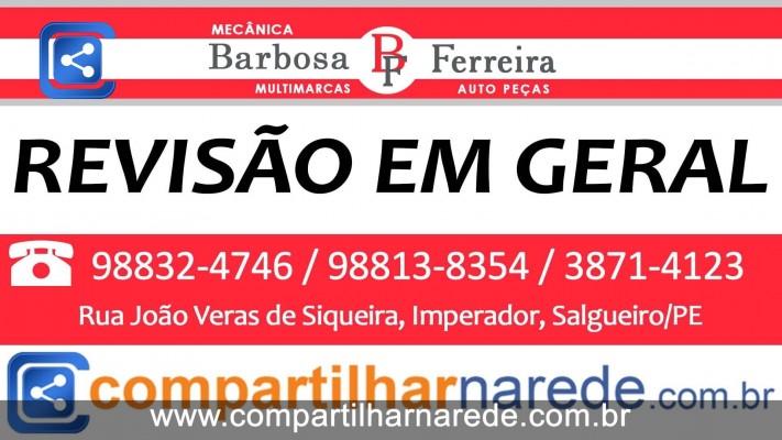 Revisão em Geral em Salgueiro, PE - Mecânica Barbosa e Ferreira Auto Peças