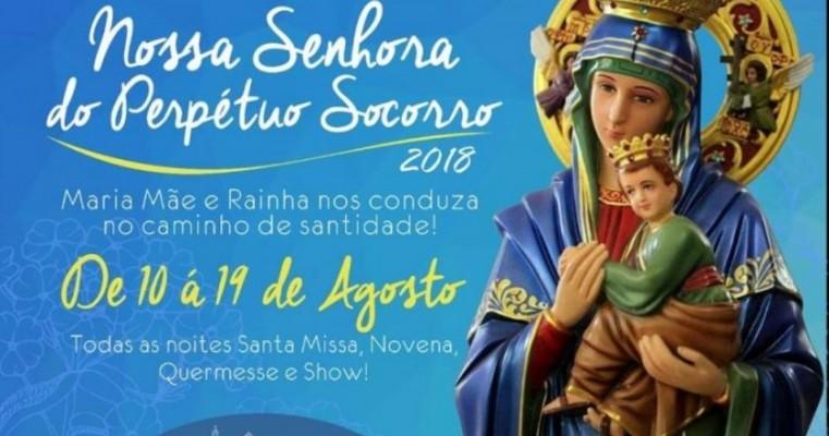 Paróquia Nossa Senhora do Perpétuo Socorro começa festividade da padroeira na próxima sexta-feira