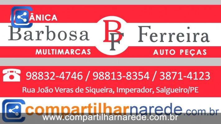 Oficina em Salgueiro, PE - Mecânica Barbosa e Ferreira Auto Peças