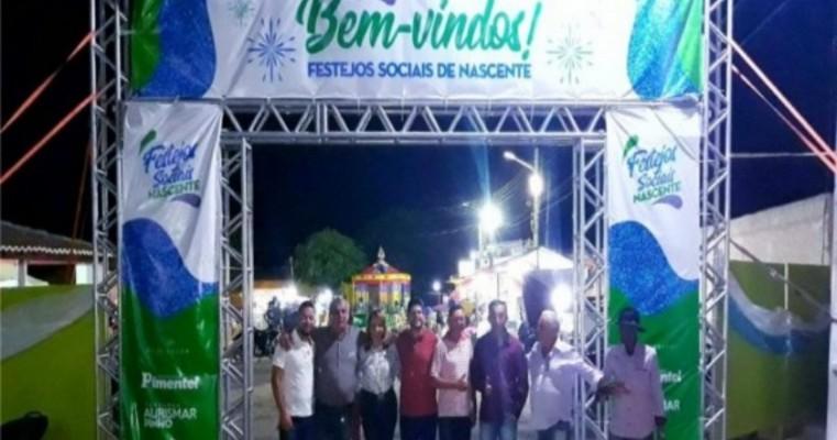 Deputado Adalberto Cavalcanti participa de Festejos em Nascente/Araripina-PE