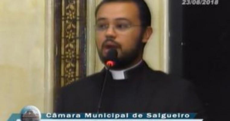Padre João Marcos lança Festa da Santa Cruz 2018 na Câmara de Vereadores de Salgueiro