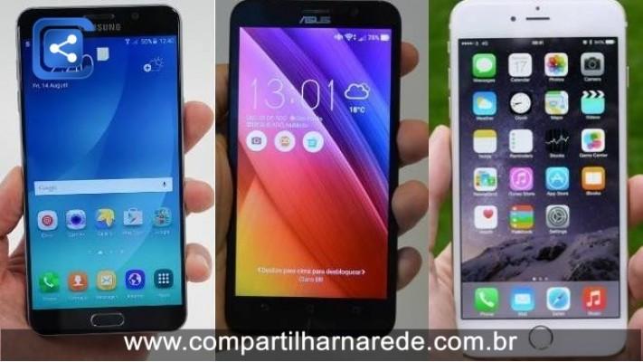 Galaxy Note 5, Zenfone 2, iPhone 6 Plus: qual é a melhor opção?