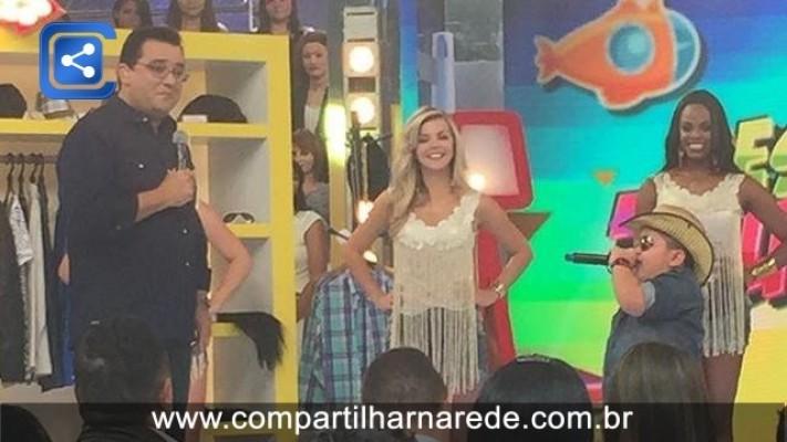 Garoto Guiguiba de 6 Anos faz maior sucesso na internet e agora na TV
