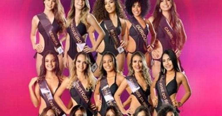 Jovens disputam Miss Sertão em Serra Talhada