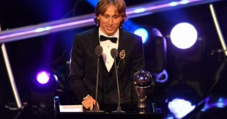 Modric é eleito melhor de 2018 pela Fifa