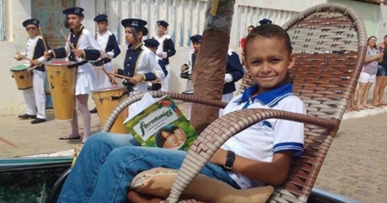 Salgueiro - Estudante da Escola Municipal Maria Dalva se classifica para o final do Concurso Ler Bem